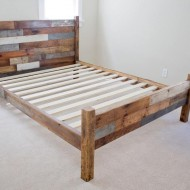 sloophout-bed