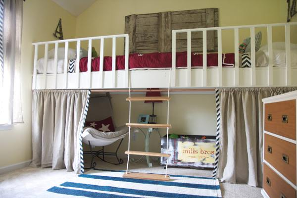 Bed maken en slaapkamer inrichting de mooiste voorbeelden - Toddler bedroom ideas for small rooms ...