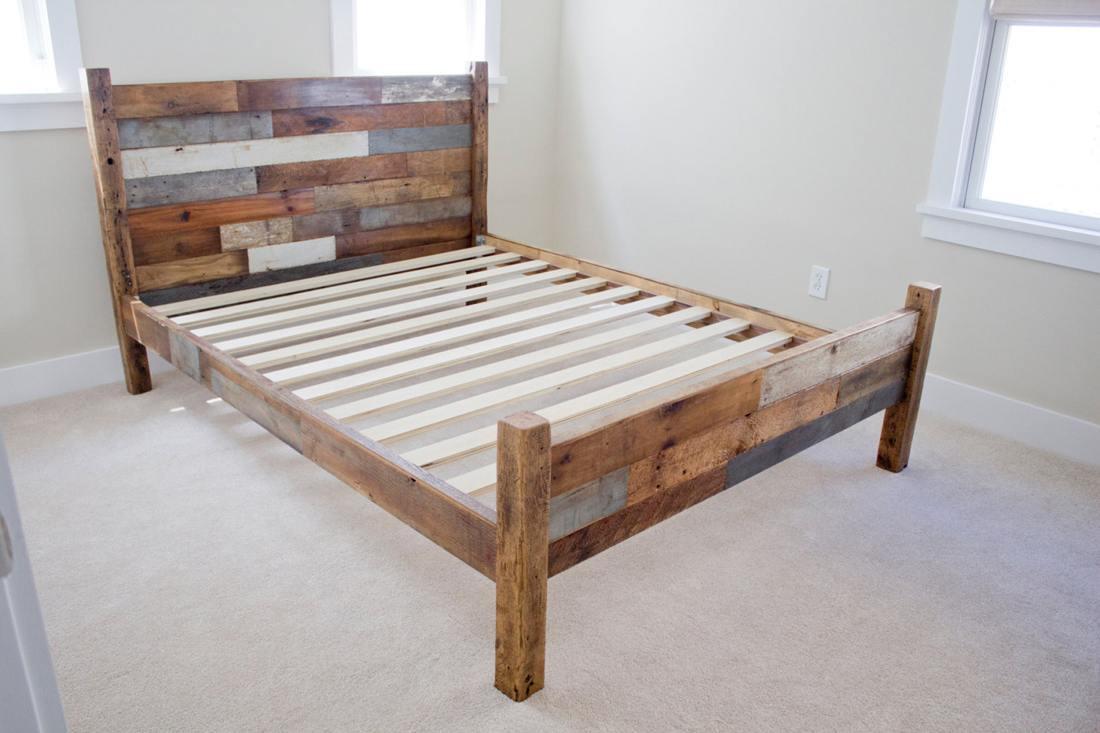 Bed maken en slaapkamer inrichting de mooiste voorbeelden for Zelf tuintafel maken van steigerhout