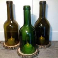 wijnflessen-als-kandelaar