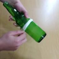-touw-om-fles