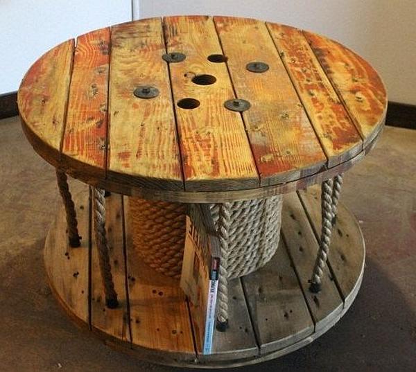 Kabelhaspel hout