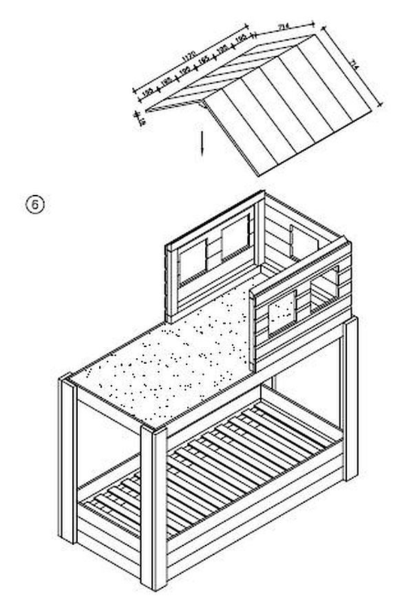 Bekend Kinderbed maken, bedden van steigerhout en MDF platen. #FW26