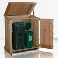 Kasten van steigerhout, gratis bouwtekeningen.