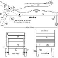 Bouwtekeningen om zelf een bed te maken gratis - Houten buffet recyclen ...