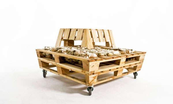 Houten Pallet Meubelen : Pallet meubelen maken pallets demonteren en hergebruiken