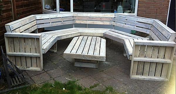 Pallet meubelen maken pallets demonteren en hergebruiken for Loungeset steigerhout zelf maken