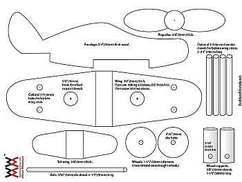 Spiksplinternieuw Speelgoed vliegtuig maken van hout, gratis bouwtekeningen. IL-52