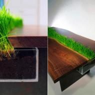 tafel-met-plantenbak-maken