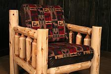 Zelf meubels maken van takken en rondhout, een stoere lounge fauteuil voor huis en tuin.