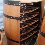 wijnvat-wijnrek