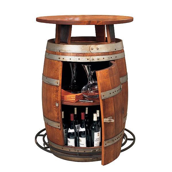 Hedendaags Wijnvat meubelen, tafels stoelen en banken van eiken vaten. TW-64