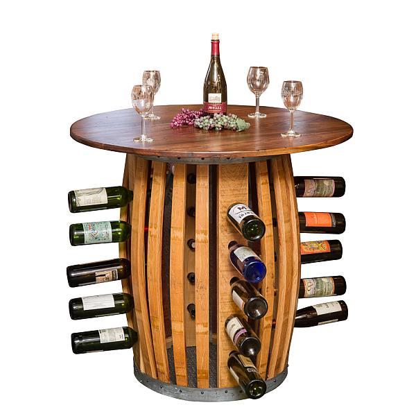 Verwonderend Wijnvat meubelen, tafels stoelen en banken van eiken vaten. PH-25
