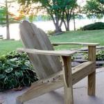 Adirondack stoel maken.