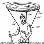 Leuk idee voor een zwevende parasol.