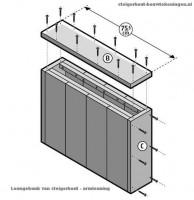 Bed van steigerplanken zelf maken tweepersoons bedden - Ontwerp hoofdbord ...