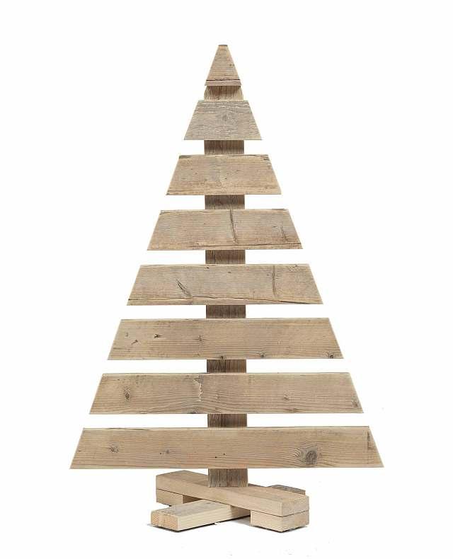 Kerstboom steigerhout - Voorbeeld van tuindecoratie ...