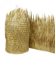 Rieten Parasols Parasoldaken Van Bamboe En Riet