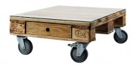 Lage tafels voor in huis of als terrastafels bij een lounge set.