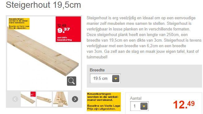 Wandbord Steigerhout Gamma.Steigerplanken Kopen Oud En Nieuw Steigerhout Te Koop