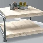 Deze tafel is met de bouwtekening als handleiding gemaakt.