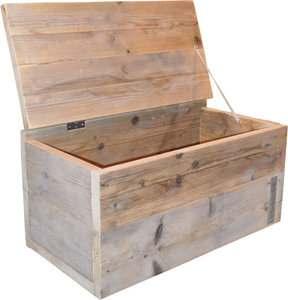 Steigerhout kist maken met whitewash afwerking for Tuintafel steigerhout bouwpakket