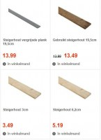 Nieuwe steigerplanken of met oud steigerhout keukens maken.
