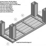 Tafel xl zelf maken gratis bouwtekening voor steigerhout for Tuintafel maken van steigerhout