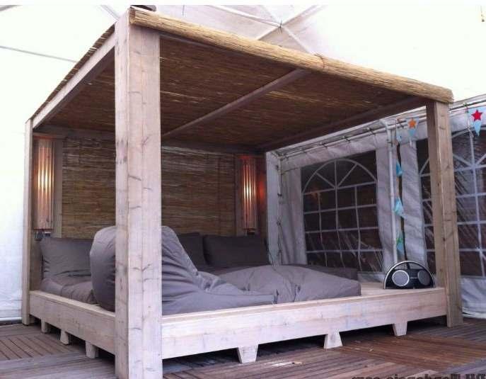 Zelf Een Steigerhouten Keuken Maken : Zelf een bed maken van steigerhout, voorbeelden van een houten