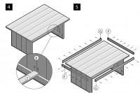 Maak deze tuintafel met behulp van de gratis bouwtekeningen en voorbeelden voor doe het zelvers.