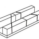 Met dit hulpmidel is het heel gemakkelijk om plankjes in verstekl te zagen.