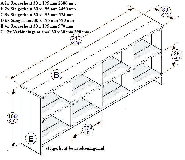 Buitenkeuken Steigerhout Zelf Maken : houten wandmeubel. ? Televisiekast van steigerhout om zelf te maken