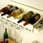 Wijnrek zelf maken.